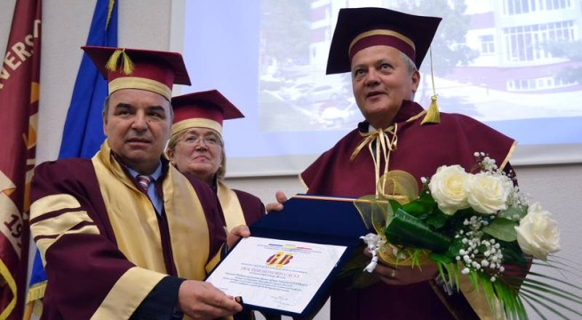Adrian Cotirlet-doctor honoris causa